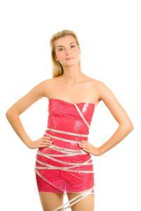 Girl in Cellulite Wrap
