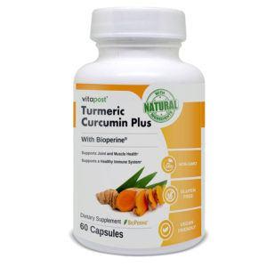 turmeric curcumin plus bottle