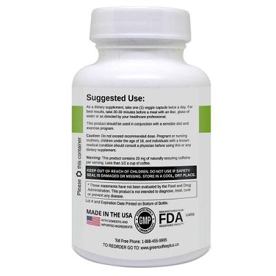 green coffee plus supplement