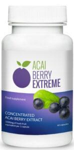 acai berry extreme bottle